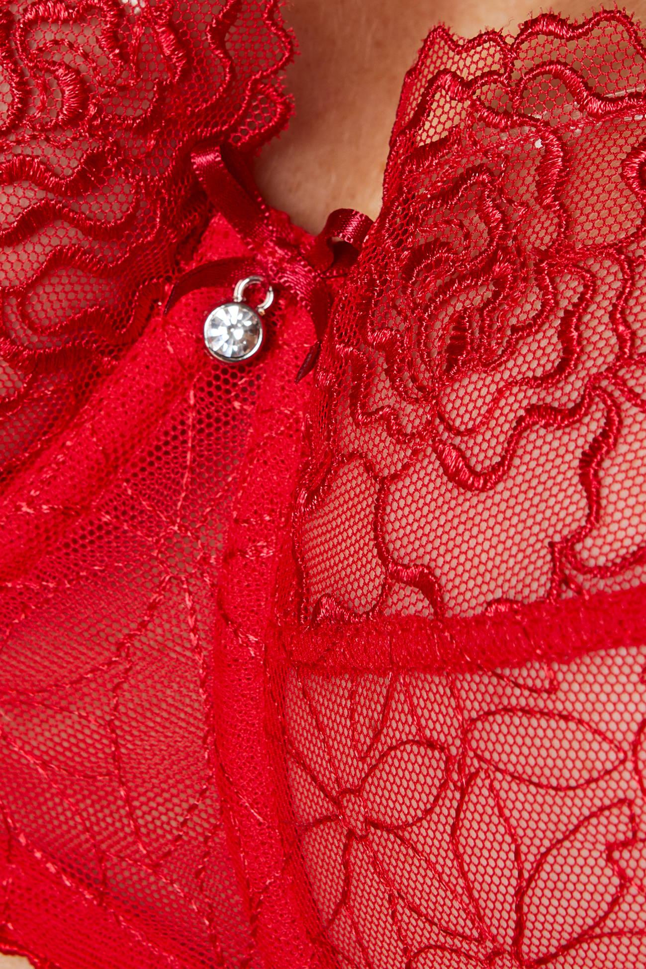Gorteks Pamela/B2 soft bra carmine Classic collection