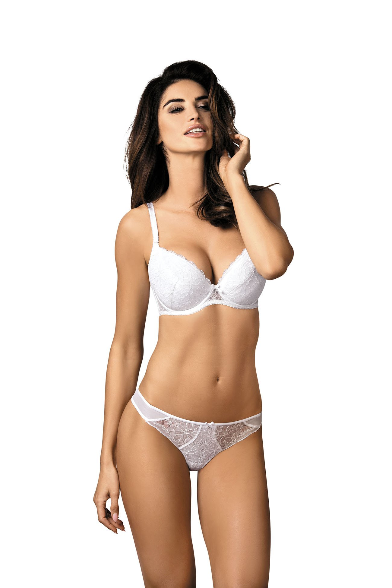 5da59fe9abb3 Gorteks Alexis/B1 push-up bra white Classic collection