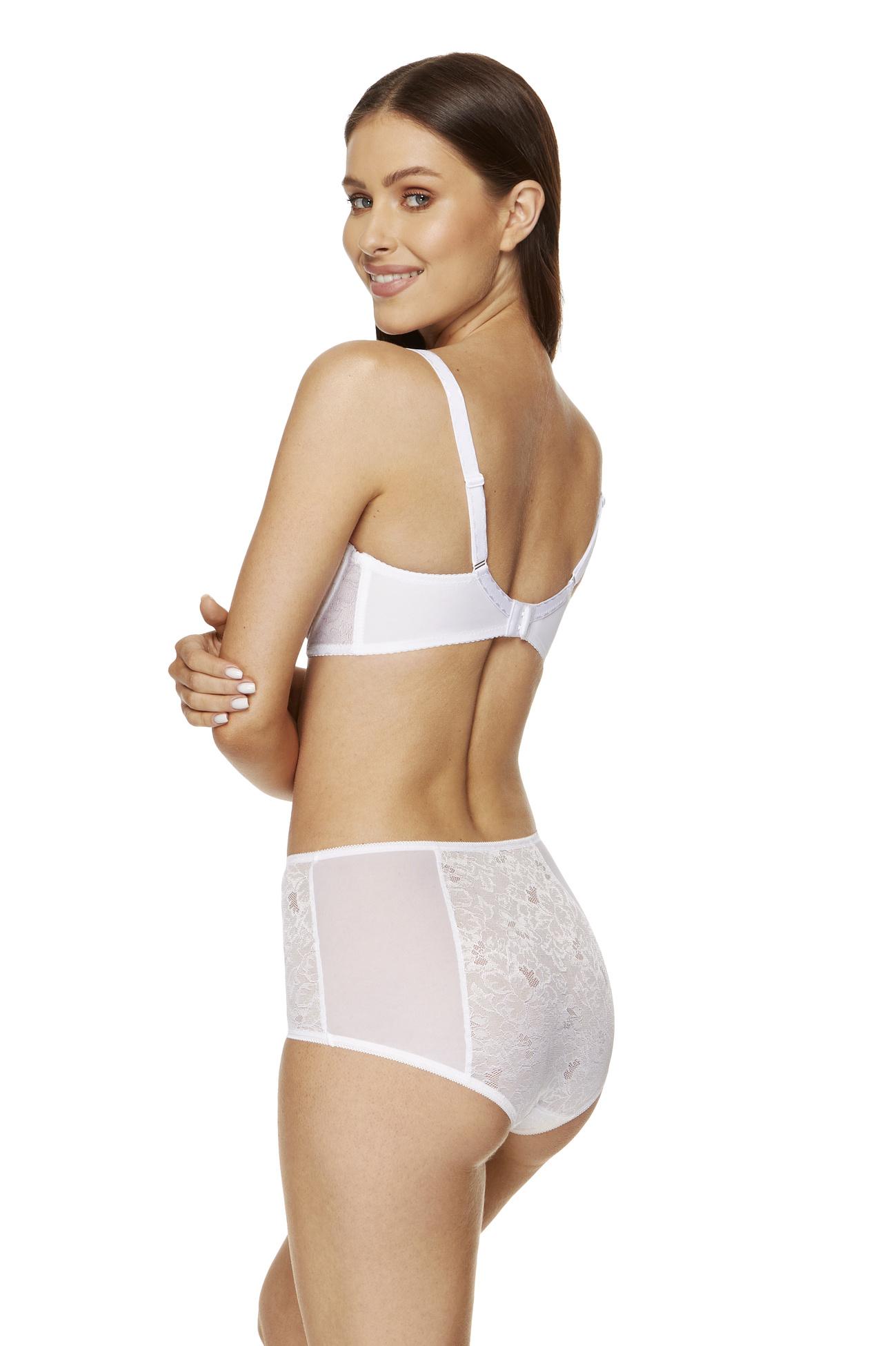 Gorteks Elise FW high waist panty white Classic collection 40c97505b