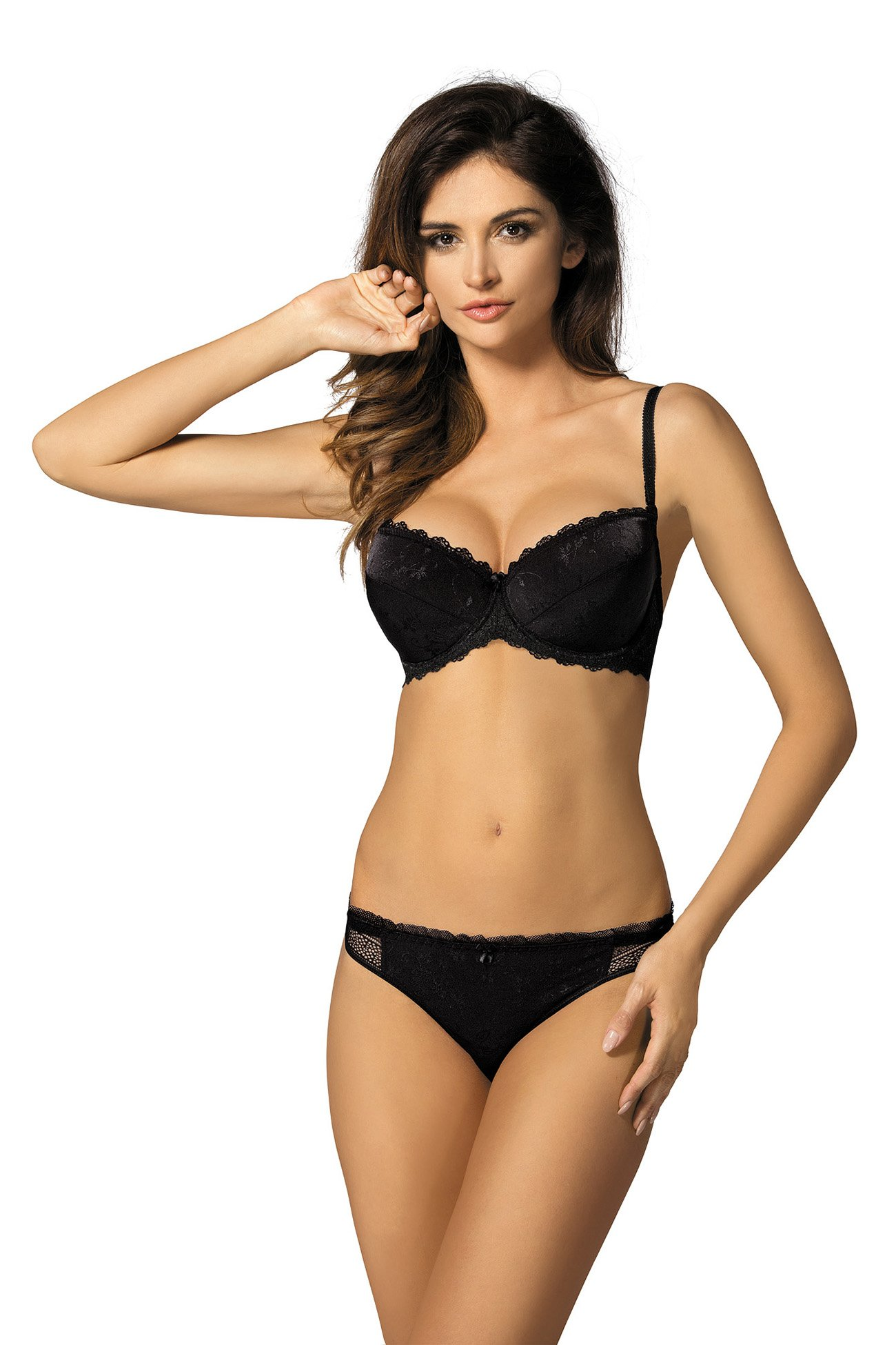 48181071cb Gorteks Linda B1 push-up bra black Classic collection