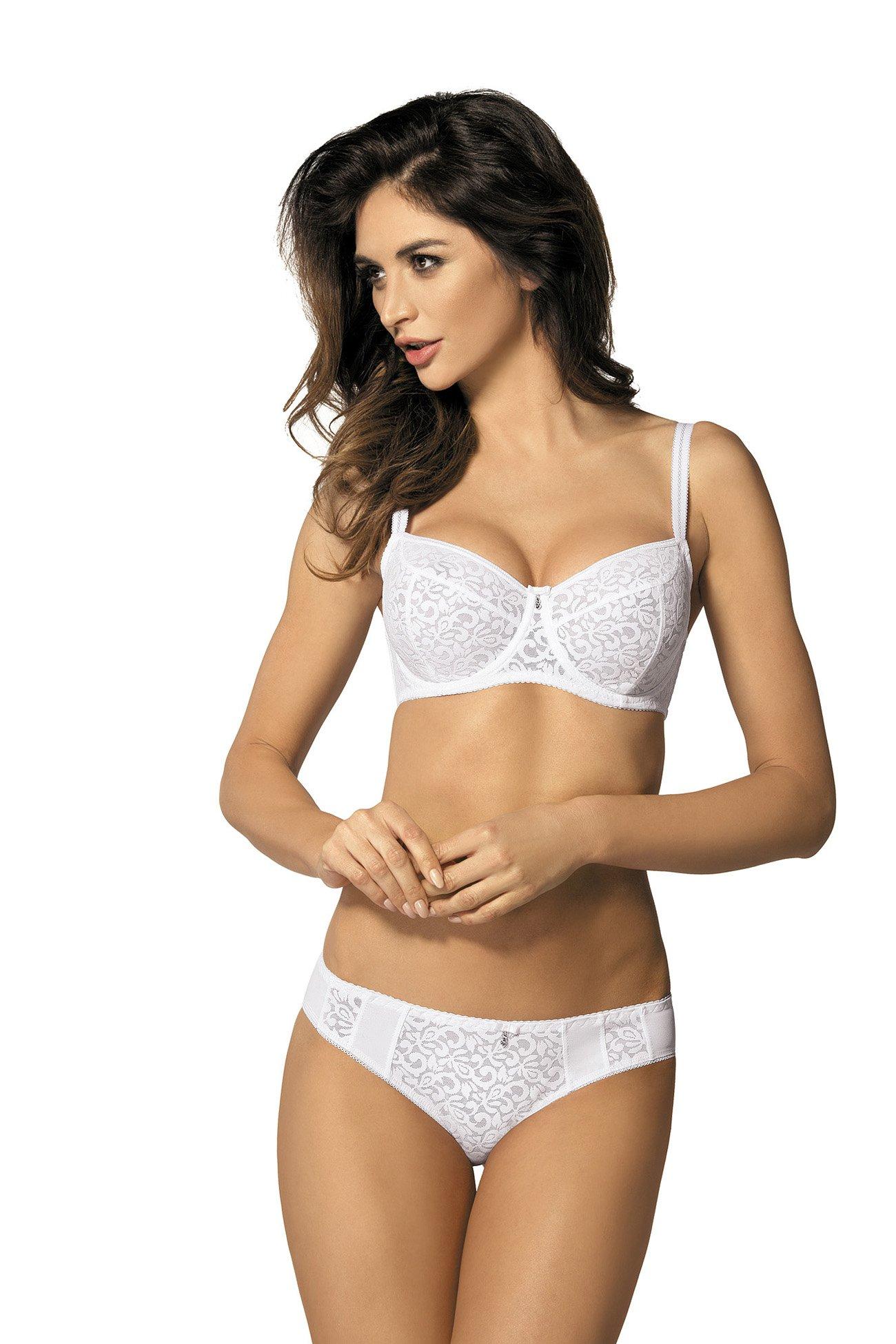 f51235ce501829 Gorteks Marilyn/B2 soft bra white Classic collection