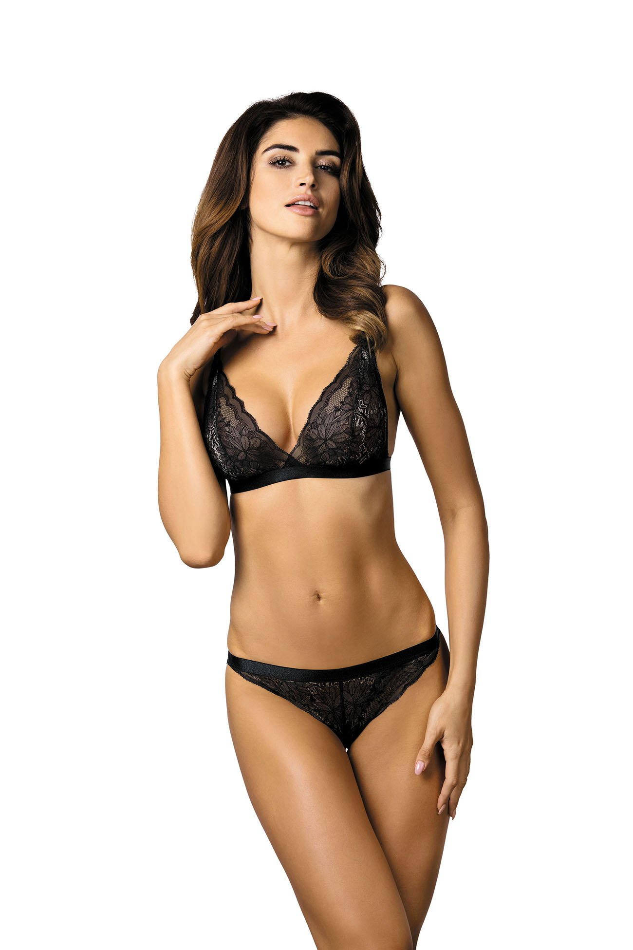 361a141b1f8c74 Desire/B2 biustonosz miękki czarny: rozmiary, opinie - ekskluzywna bielizna  Gorteks